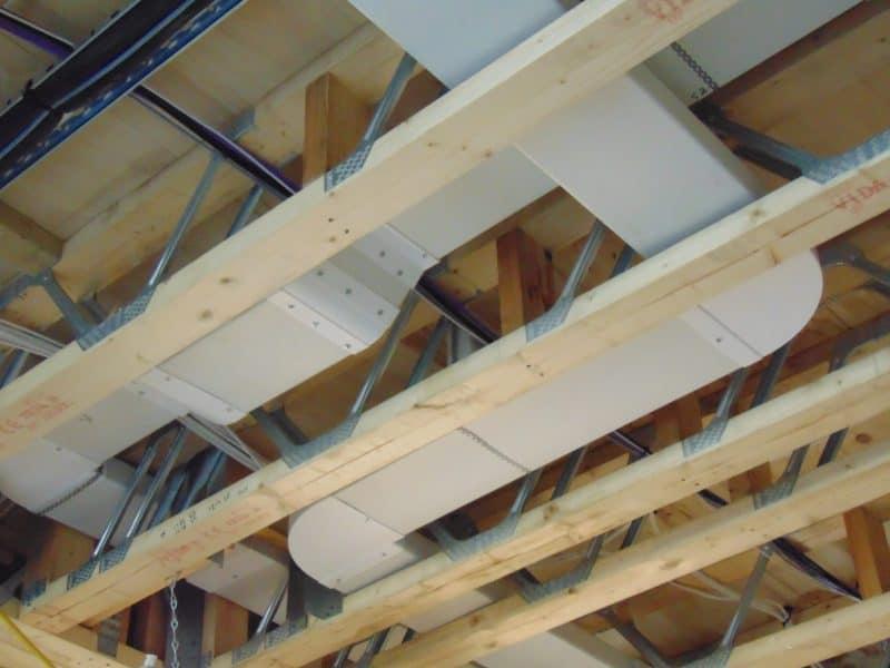 case din lemn, placi multicui, sarpanta industrializata din lemn, MiTek Romania, Grinzi POSI JOIST