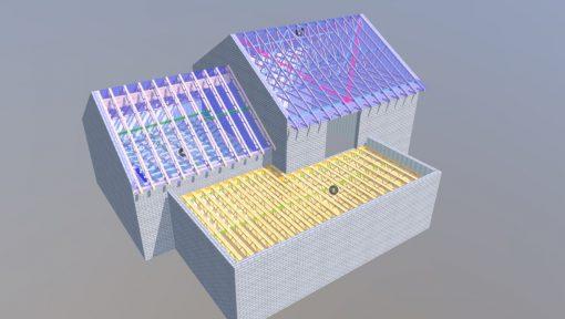 proiecte 3D grinzi POSI