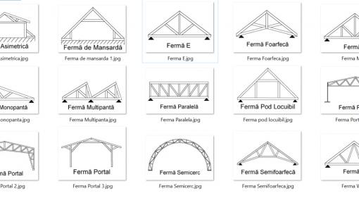 modele ferme asamblate cu placi multicui