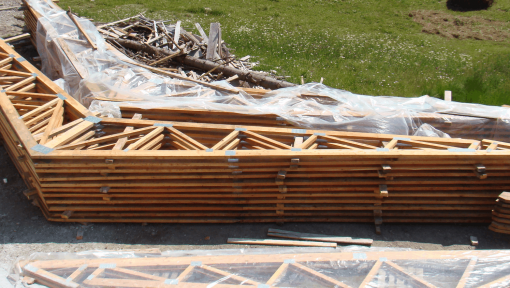 ferme prefabricate asamblate cu placi multicui