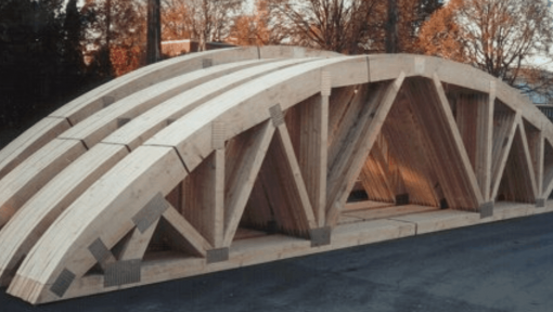 ferme semirotunde prefabricate asamblate cu placi multicui