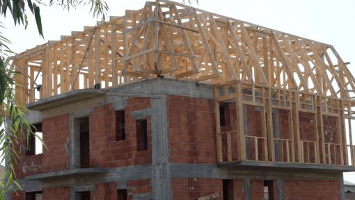 mansarda din lemn prefabricata asamblata cu placi multicui