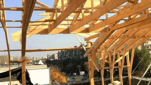 mansarda din lemn prefabricaa asamblata cu placi multicui