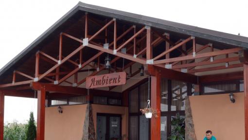 mansarda prefabricata din lemn restaurant