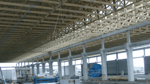 sarpanta hala prefabricata asamblata cu placi multicui
