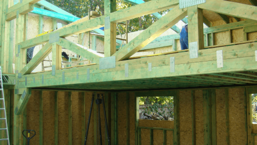 ferme prefabricate din lemn pentru garaj