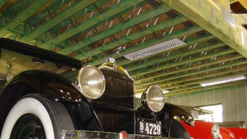 grinzi prefabricate din lemn posi-strut pentru garaj