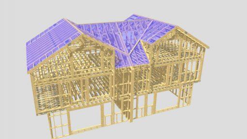 Casa din lemn duplex Mitek Industries Pamir