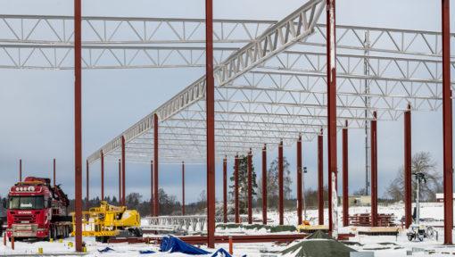 MiTek Industries bygger ny anläggning i Tranås.