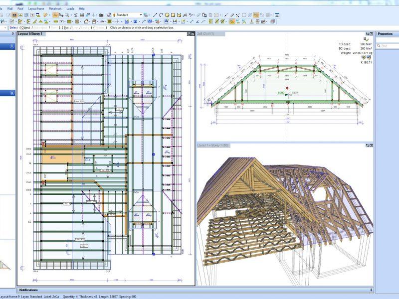 Roof Truss Design Software Joist Design Software Mitek Uk Ireland