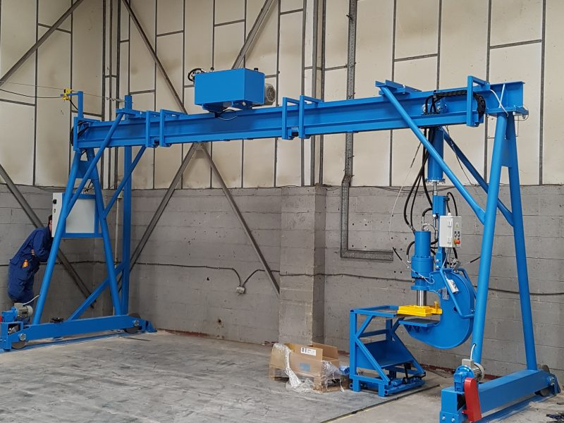 MK8C A Frame Gantry Press