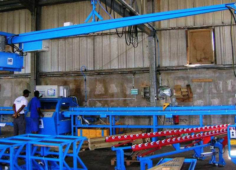 Mark-8 Machine presse bois