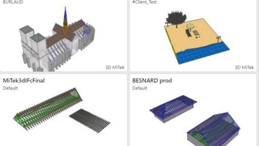 Modélisation 3D Page MiTek Optics